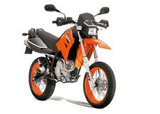 125 TC orange felgen