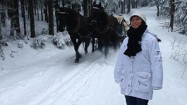 Jana im Winter